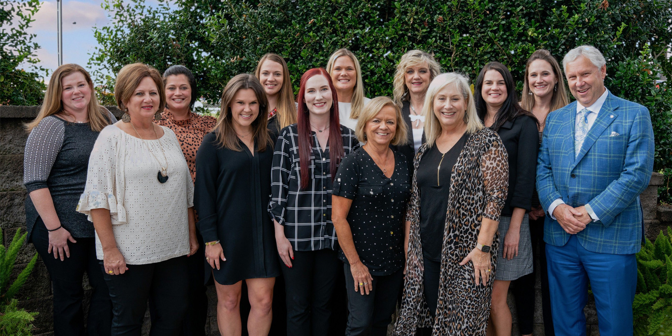 team members from Bosworth and Associates Insurance Agency from Tyler