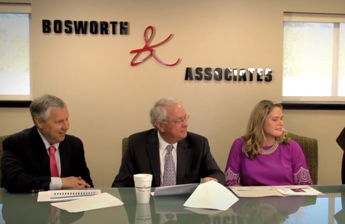 Bosworth and Associates Insurance Agency meeting